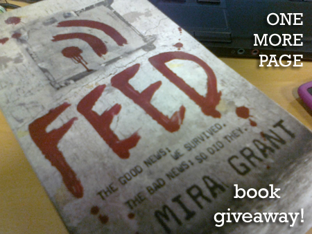 Feed by Mira Grant giveaway