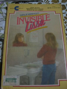 Invisible Lissa by Natalie Honeycutt