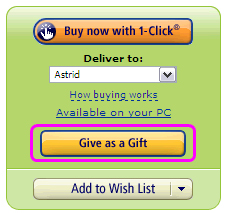 Kindle give ebook as gift