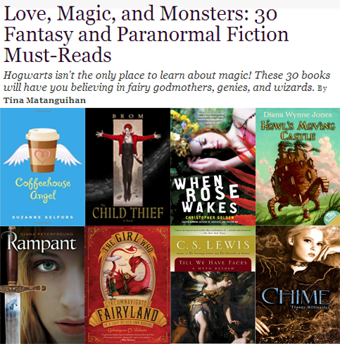 Love, Magic, and Monsters: 30 Fantasy and Paranormal Fiction Must-Reads