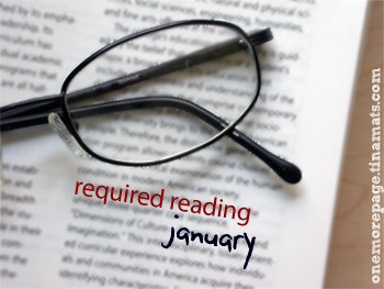 Required Reading 2012: January