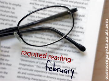 Required Reading: February