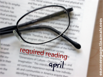 Required Reading: April