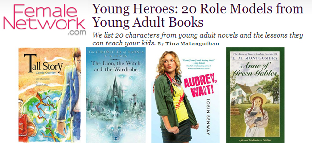 Young Heroes: 20 Role Models from Young Adult Books