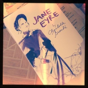 Hipstamatic shot of Jane Eyre!