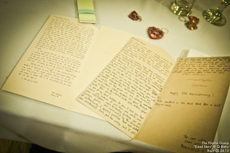 Bennard and Rhena's Letters for each other ♥