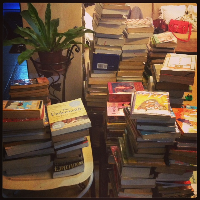Some of the books we covered that afternoon. :)