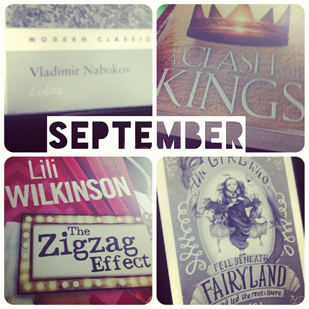 September 2013 books