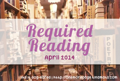 Required Reading 2014 - April