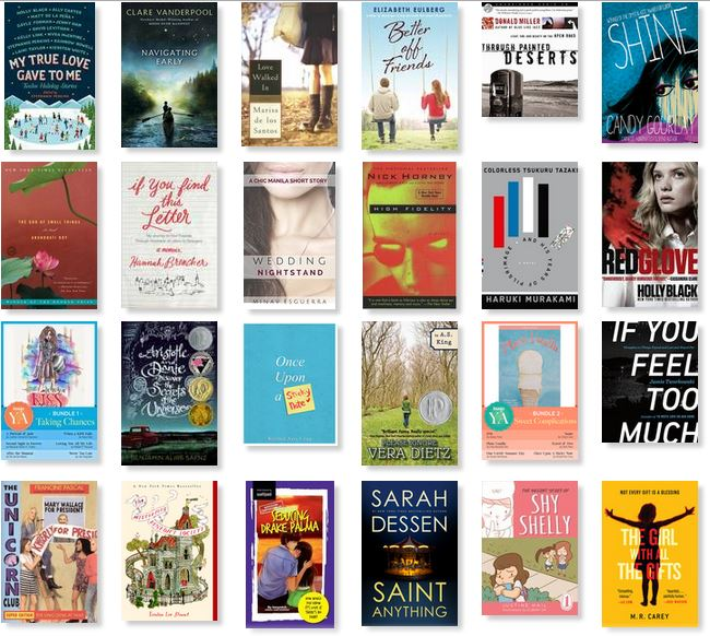 Screencapped from my 2015 shelf on Goodreads :D